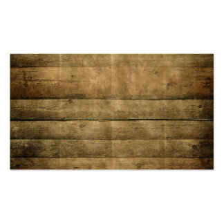 Cabin Wood Background Pack Of Standard Business Cards