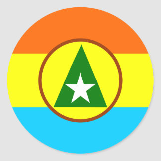 Cabinda, Angola Classic Round Sticker