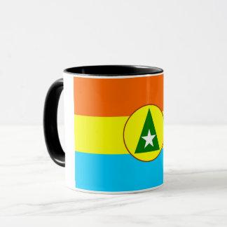 Cabinda region Angola flag symbol Mug