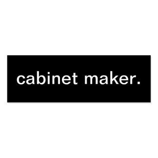 Cabinet Maker Business Card