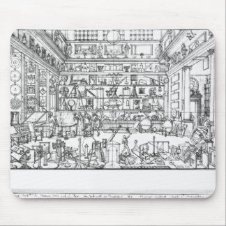 Cabinet of physics, 1687 mouse pad