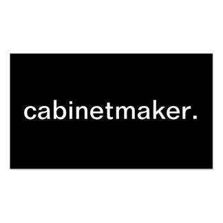 Cabinetmaker Business Card Template