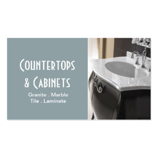 Cabinets Countertops Tile Stone Granite Marble Pack Of Standard Business Cards