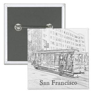 Cable Car Pin