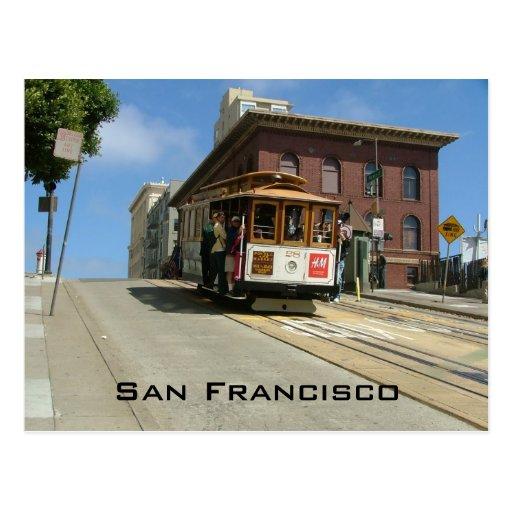 Cable Car Postcard