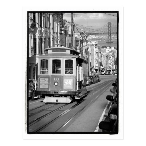 Cable Car Postcard Post Cards