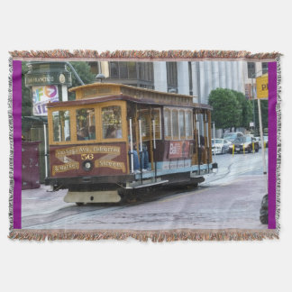 Cable Car Throw Blanket