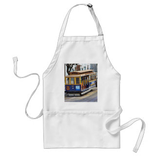 Cable Cars In San Francisco Aprons
