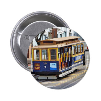 Cable Cars In San Francisco Pins