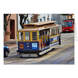 Cable Cars In San Francisco Cards