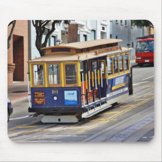 Cable Cars In San Francisco Mouse Pad