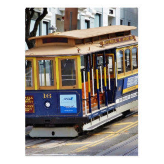 Cable Cars In San Francisco Post Cards
