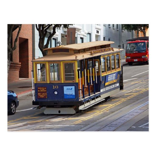 Cable Cars, San Francisco Post Cards