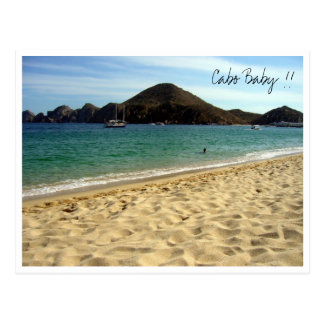 cabo baby postcard