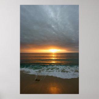 Cabo Beach Rock Print