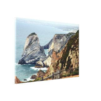 Cabo da Roca coast, Portugal Canvas Print