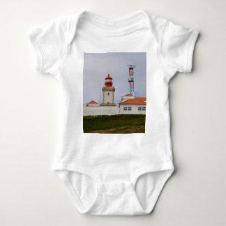 Cabo da Roca Lighthouse, Portugal Baby Bodysuit