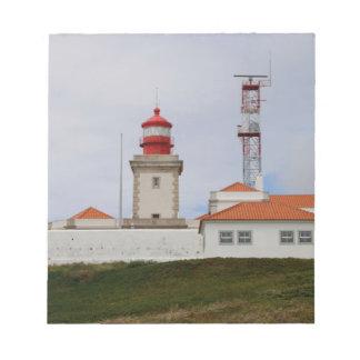 Cabo da Roca Lighthouse, Portugal Notepad