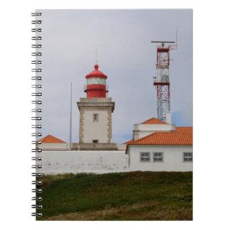 Cabo da Roca Lighthouse, Portugal Spiral Notebook