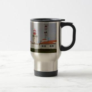 Cabo da Roca Lighthouse, Portugal Travel Mug