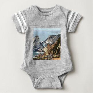 Cabo da Roca: Portugal Baby Bodysuit
