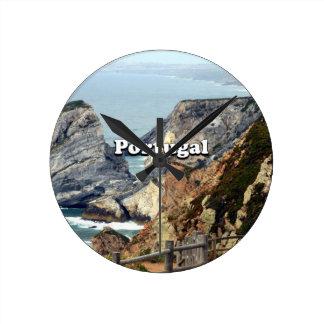 Cabo da Roca: Portugal Round Clock