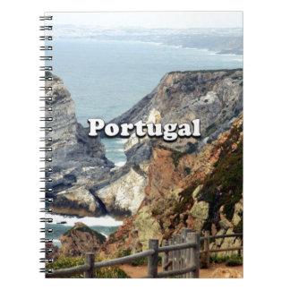Cabo da Roca: Portugal Spiral Notebook