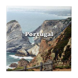 Cabo da Roca: Portugal Tile