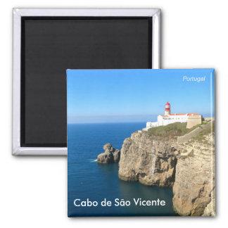 Cabo de São Vicente/Cape St. Vincent Square Magnet