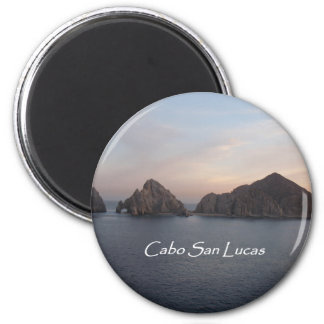Cabo San Lucas at Sunset 6 Cm Round Magnet