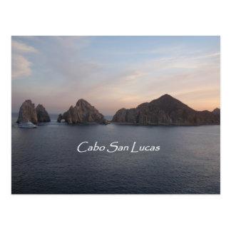 Cabo San Lucas at Sunset Postcard