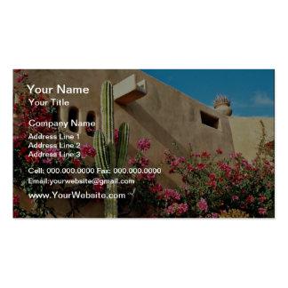 Cabo San Lucas, Baja, Mexico  flowers Business Card Template