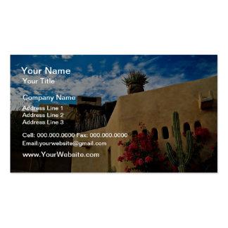 Cabo San Lucas, Baja, Mexico  flowers Business Card Templates