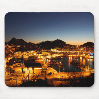 Cabo San Lucas Cityscape At Sunset, Mexico Mouse Pad