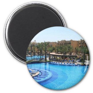 Cabo San Lucas Mexico Pool View Magnet