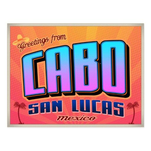 CABO SAN LUCAS POST CARD