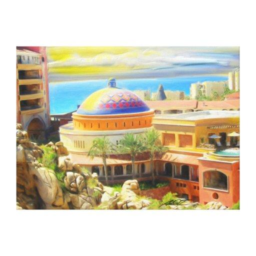 Cabo San Lucas Resort Condos Canvas Print