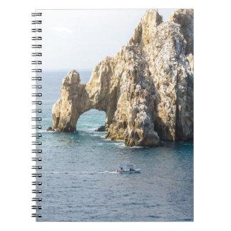 Cabo San Lucas Spiral Note Book