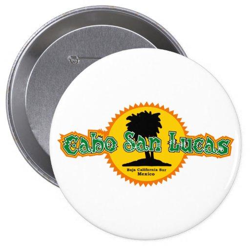 Cabo San Lucas Sun Button