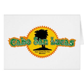 Cabo San Lucas Sun Greeting Card