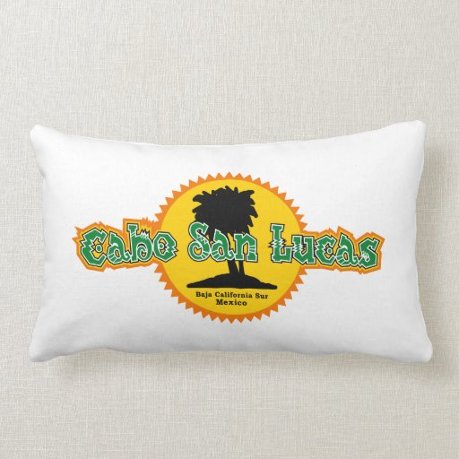 Cabo San Lucas Sun Pillow