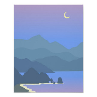 Cabo Seascape Poster