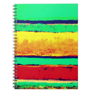 Cabo Stripes Artist Designed Notebook