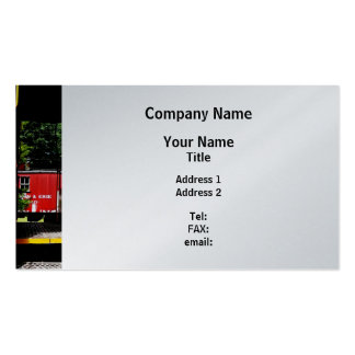 Caboose In the Distance Pack Of Standard Business Cards