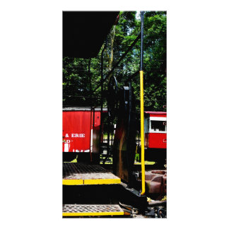 Caboose In the Distance Photo Cards