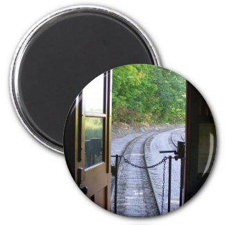 caboose view magnet