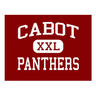 Cabot - Panthers - High School - Cabot Arkansas Postcard