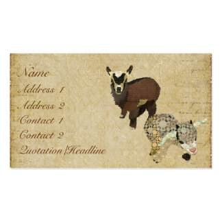 Cabrito Business Card/Tags Pack Of Standard Business Cards