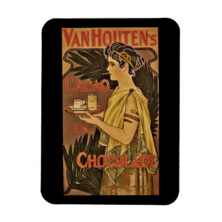 Cacao and Chocolade VanHouten Magnet