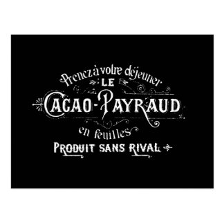 Cacao - Payraud Ad Postcard